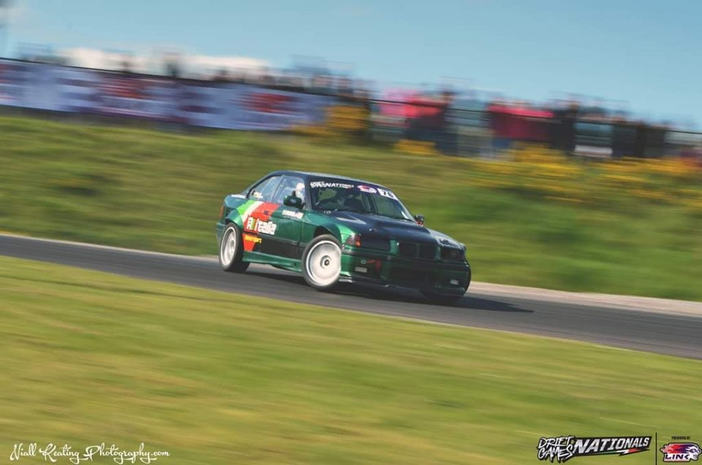 Lwi Edwards Drift Games Nationals at King of the Hill Credit to Niall Keating Photography